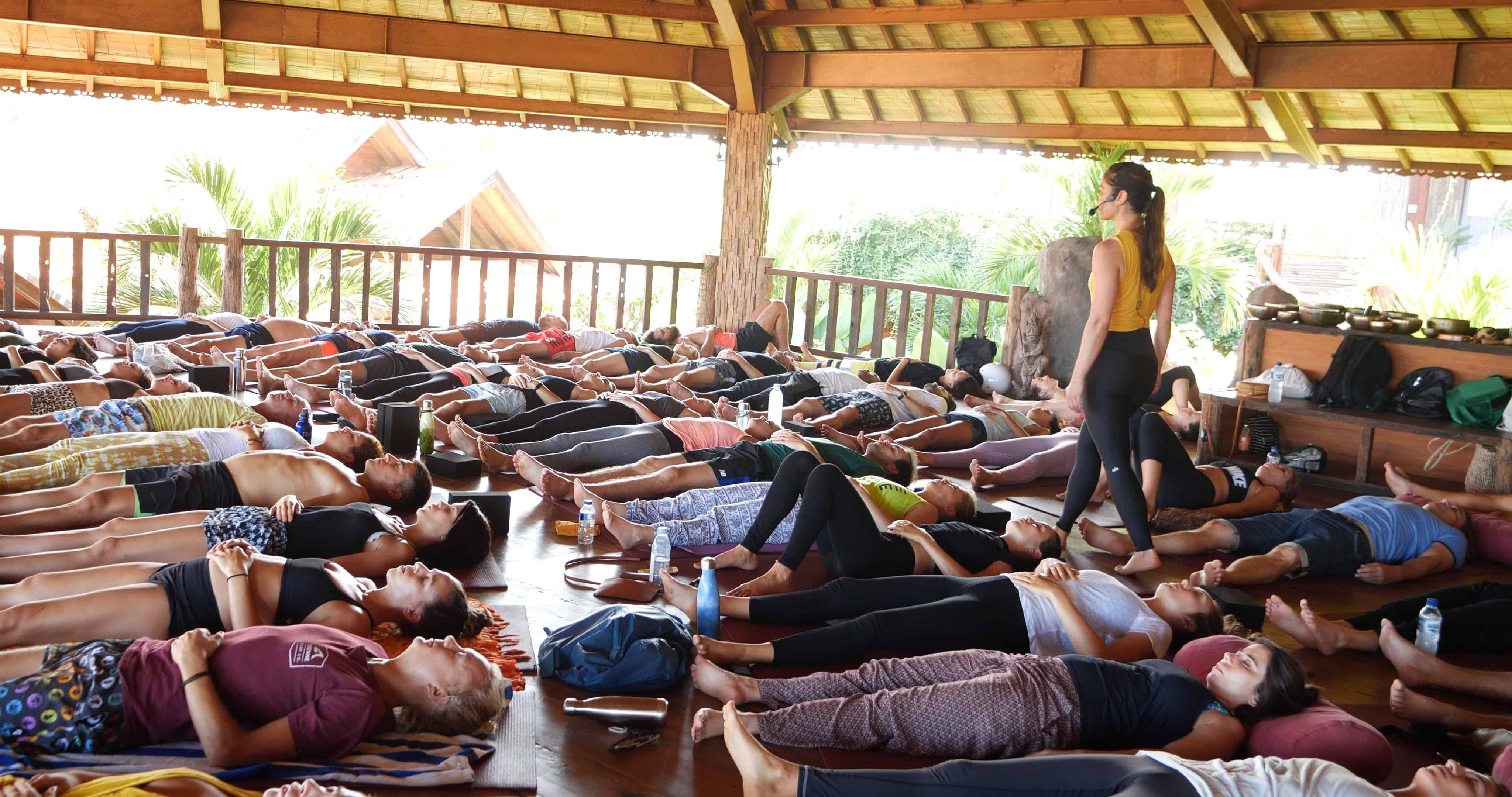 Penny Megginson Method Retreat Bali Relax Session Speaking