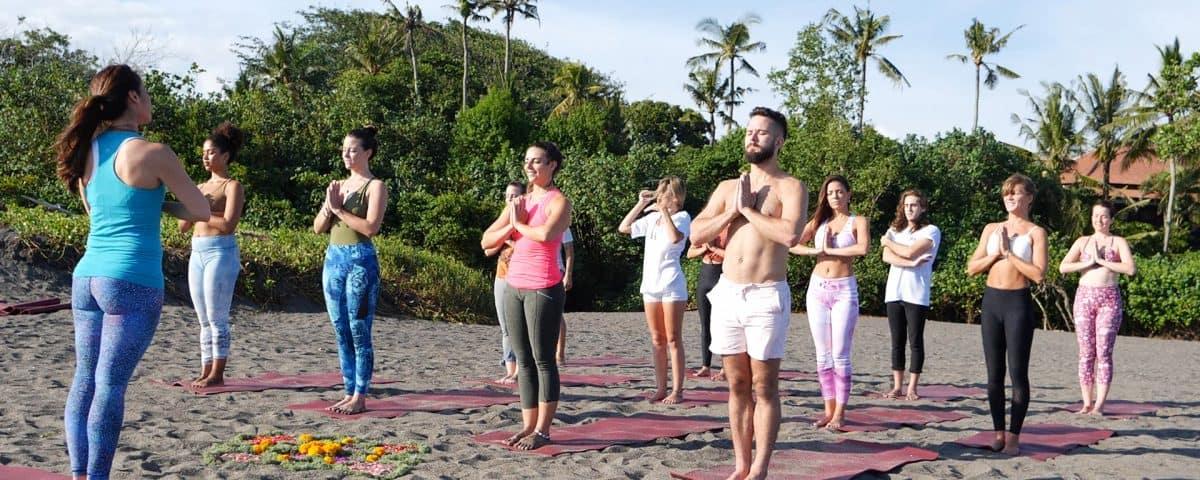 Penny Megginson Method Retreat Bali Beach Session