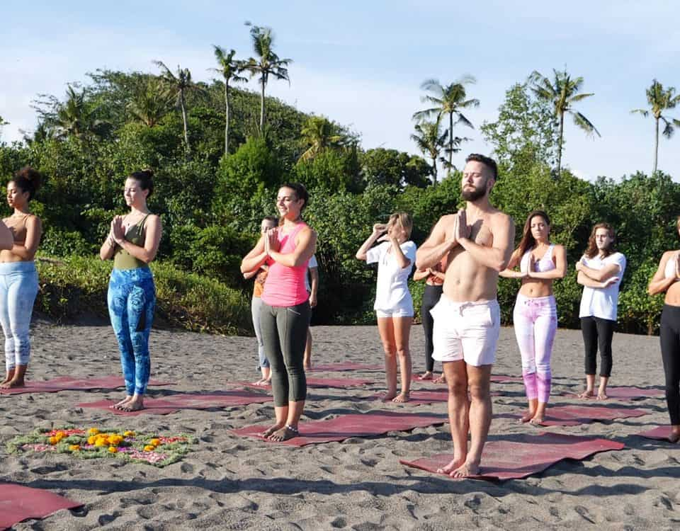 Penny Megginson Method Retreat Bali Beach Session